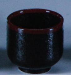 Рюмка для Саке (Серия чёрная керамика с...