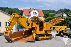 The tunnel-boring Terex Scaeff ITC 320 combine -