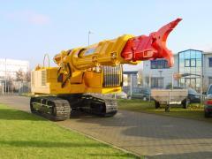 Telescopic excavators of TML Unidachs 400 L firm