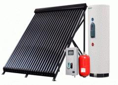 Солнечные водонагревательные СПЛИТ-системы,