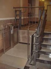 The elevator for disabled people
