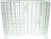 Basket for dirty linen, an art. 705703