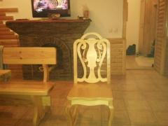 Chairs wooden