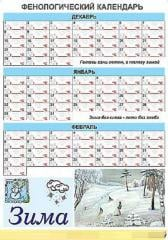 The calendar is phenological