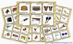 Лото Музыкальные инструменты код 10872