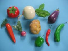 Set of models of vegetables code 8740