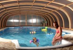 Pavilions for pools from material PVH
