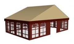 Awnings advertizing and trade of material PVH