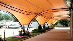Nakrytiya awning for summer cafes