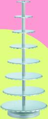 Support for cake aluminum, art. SN4434