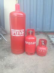 Cylinders propane