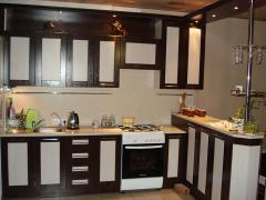 Complete kitchen under the order