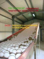 Poultry farms - deliveries and installation of