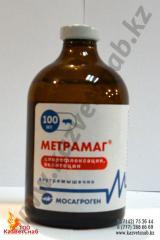 Метрамаг для свиноводства, комплексные антибиотики
