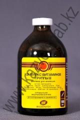 Комплекс витаминов группы В 100мл, Витамины