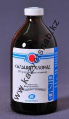 Calcium chloride of 10% 100 ml for veterinary