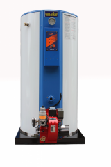 Copper gas floor Jeil Boiler STS 8000 the heated
