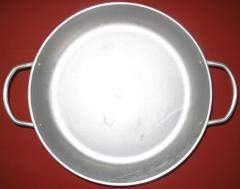 Сковорода алюминиевая с 2-мя ручками, арт. РС302