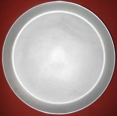 Frying pan aluminum without handles, art. PC340
