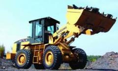 Погрузчик фронтальный CLG835, Фронтальный погрузчик, модель CLG835, Погрузчик фронтальный