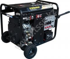 Бензиновый трехфазный генератор FIRMAN FPG12010TE