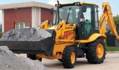 CLG 766 loader excavator, bobkat, Loaders