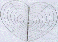 Grid support for a pan Heart, an art. 824502