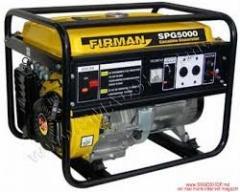 Бензогенераторы FIRMAN SPG5000