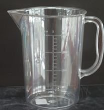 Measured jug (measured mug) on 0,5 l, an art.