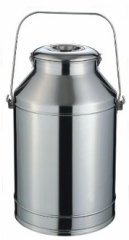 Can with the cover, with the handle of 25 liters,