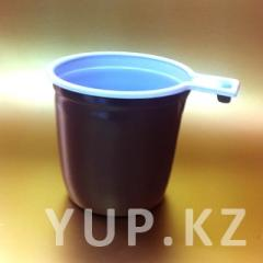 Cup coffee 200 ml (white-brown)