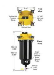 Фильтры сепараторы FBO-10