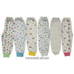 Panties with a pile