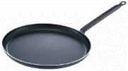 Frying pan a pancake house with the handle, an