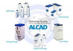 Alcad storage batteries