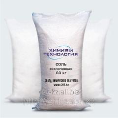 Соль техническая (натрий хлористый, хлорид натрия)