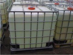 The caustic liquid soda (caustic soda, sodium