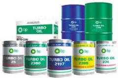 Power oils, oil compressor, oil turbine