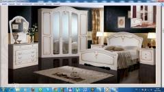 Спальный гарнитур Валерия 4 жемчуг