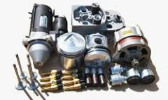 Spare parts of engines for special equipmen