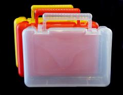 Cases plastic medical from the producer
