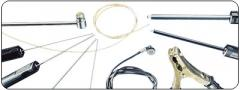 Thermocouples of K type