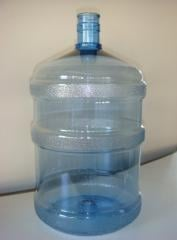 Large bottles are polycarbonate