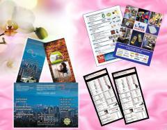 Leaflets, flyer.