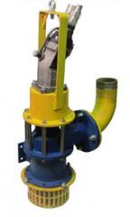 Osediagonalny pump ODN 120 C GIDROPRIVODOM