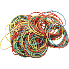 Bank rubber band 100 gr.