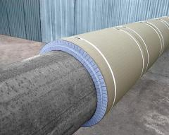 Thermal insulation for pipelines