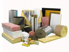 Materials for industrial thermal insulation