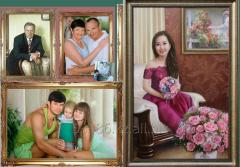 Portraits to order, pictures, Astana
