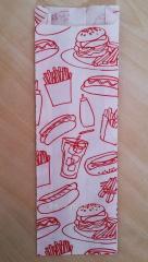 Пакеты под донер, фри, уголок под гамбургер